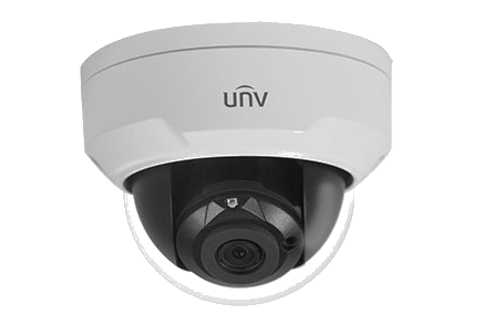Uniview IPC322ER3-DUVPF28-C Starlight WDR Car-Grade Led Smart Functions Dome IP Camera (2MP)