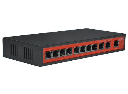 Wi-Tek WI-PS311G-24V Gigabit Switch PoE Passive (120W, 8 PoE + 3 GE)